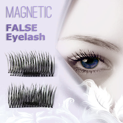 1 Pair 9 Types 3D Magnetic False Eyelash