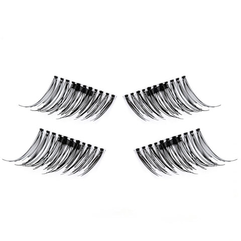 1 Pair 3D Magnetic False Eyelash