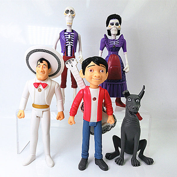 Coco Pixar Movie Figurine 5pcs