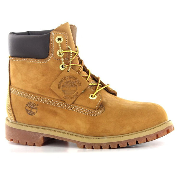 Timberland 6 Premium Wheat Nubuck Juniors Boots - 12909 M#color_wheat