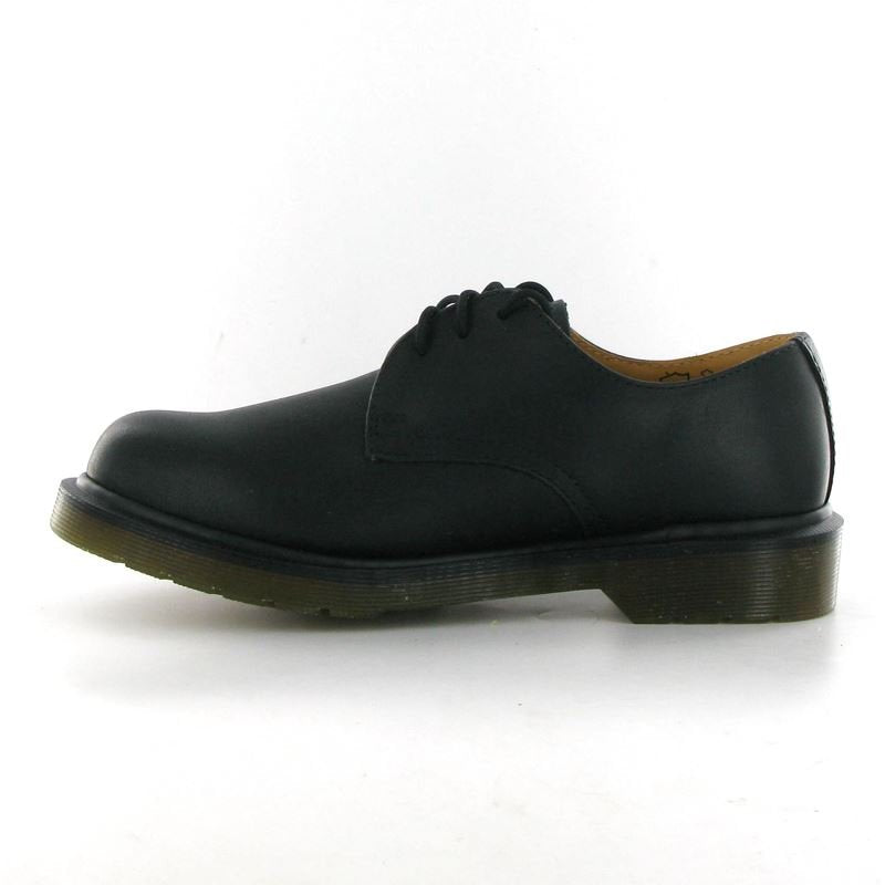 Dr.Martens 1462 PW Black Leather Womens Shoes - 11834001