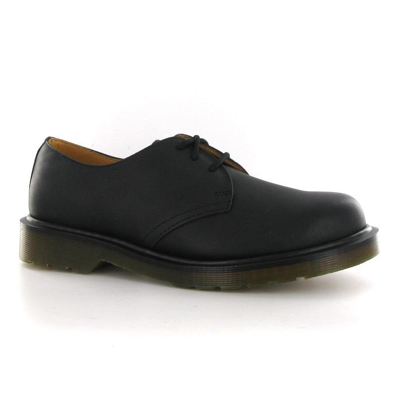 Dr.Martens 1461 HY Black Leather Womens Shoes - 11839001