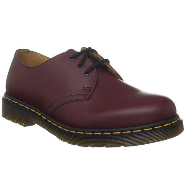 Dr.Martens 1461Z Cherry Leather Mens Shoes - 11838600#color_cherry