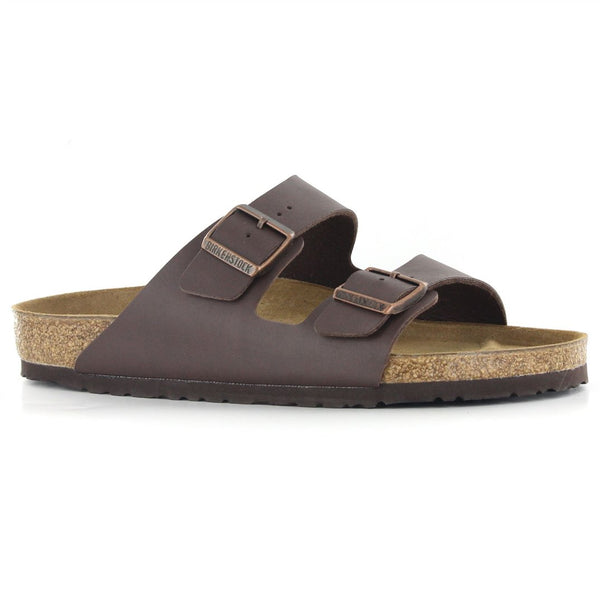 Birkenstock Arizona Dark Brown Mens Sandals - 051701#color_dark brown