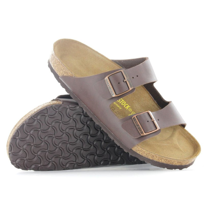 Birkenstock Arizona Dark Brown Mens Sandals - 051701