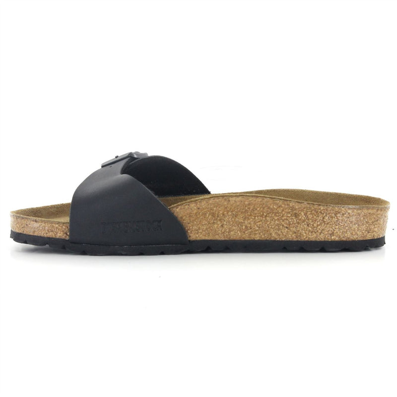 Birkenstock Madrid Black Womens Sandals - 040791