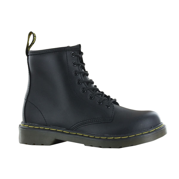 Dr.Martens Delaney Black Leather Kids Boots - 15382001#color_black