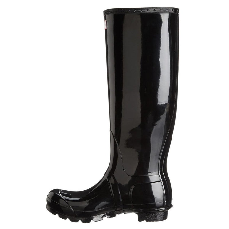 Hunter Original Tall Black Womens Boots - WFT1000RGL BLK