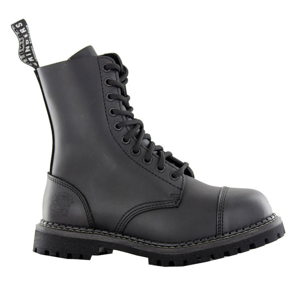 Grinders Stag CS Derby Boot Black Mens Boots#color_black