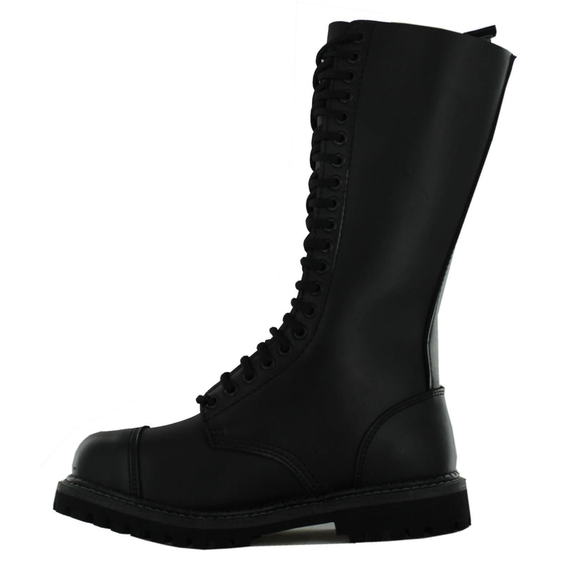 Grinders King CS Derby Black Womens Boots