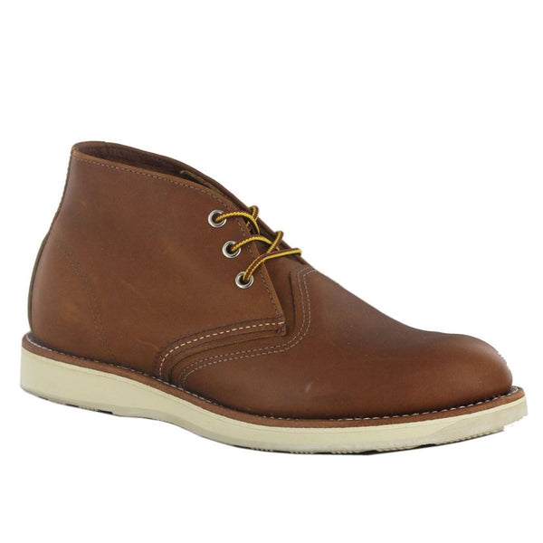 Red Wing Chukka 03140 Brown Mens Boots#color_brown