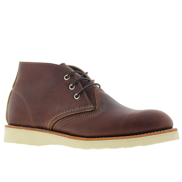 Red Wing Classic Chukka 3141 Dark Brown Mens Shoes#color_dark brown