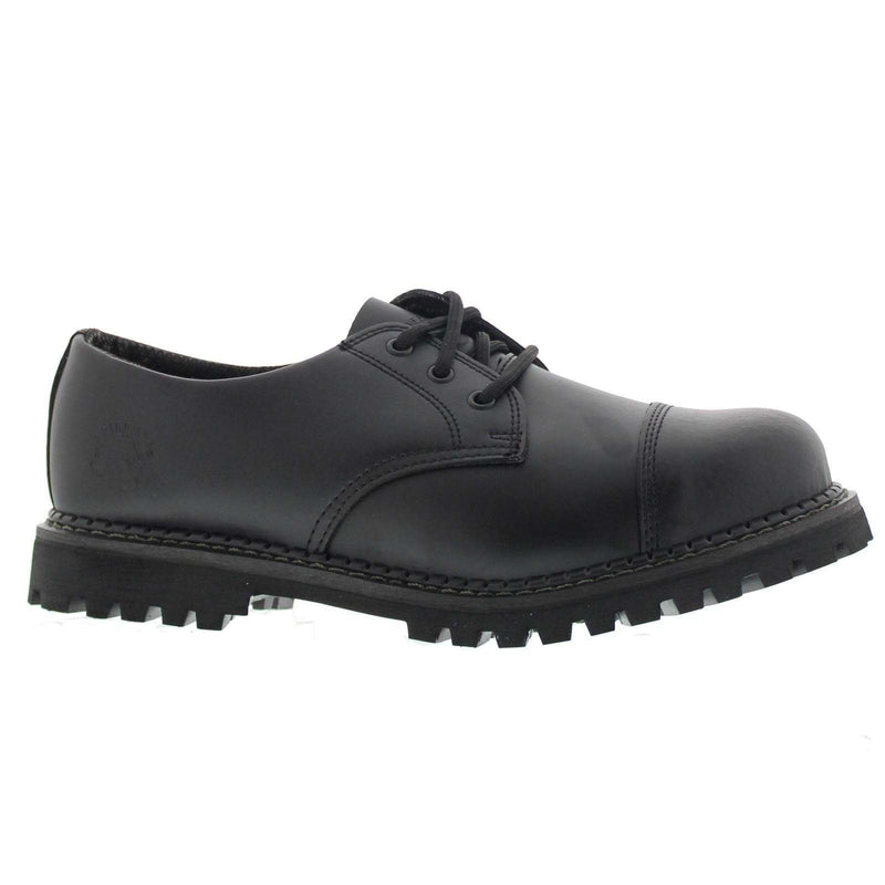 Grinders Regent CS Black Mens Shoes