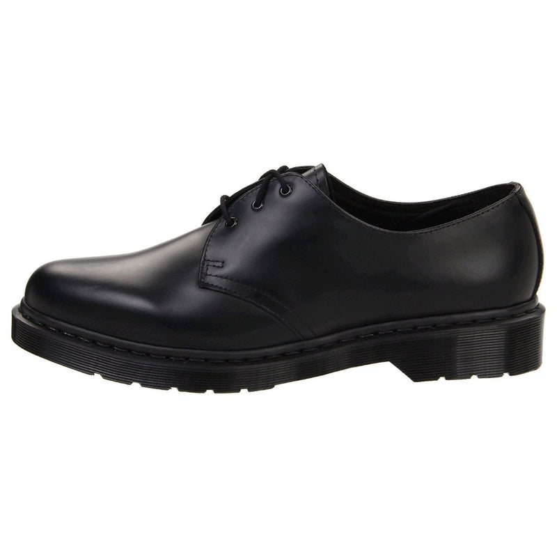 Dr.Martens 1461 3-Eyelet Mono Smooth Black Womens Shoes