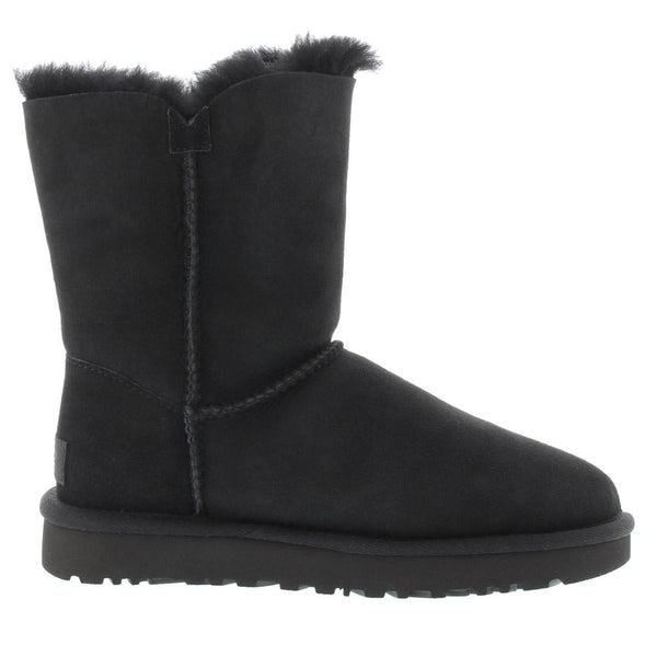 Ugg Australia Bailey Button II Black Womens Boots#color_black