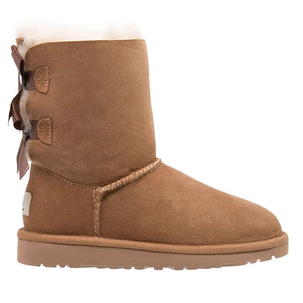 Ugg Australia Bailey Bow II Chestnut Womens Boots#color_chestnut