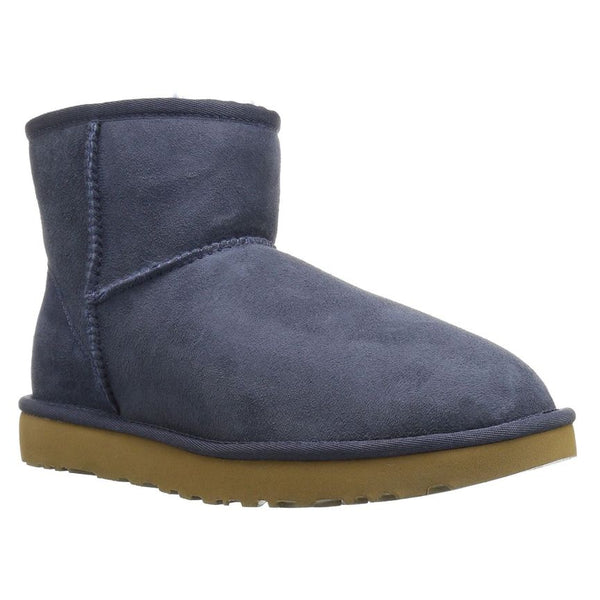 Ugg Australia Classic Mini II Navy Womens Boots#color_navy