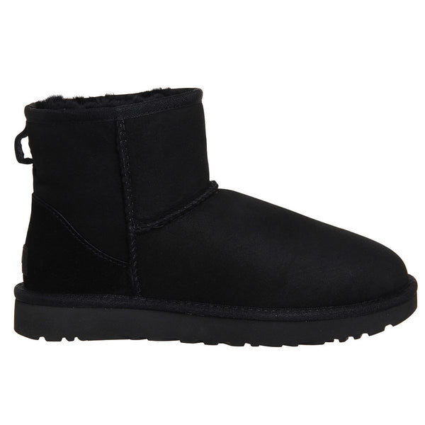 Ugg Australia Classic Mini II Black Womens Boots#color_black
