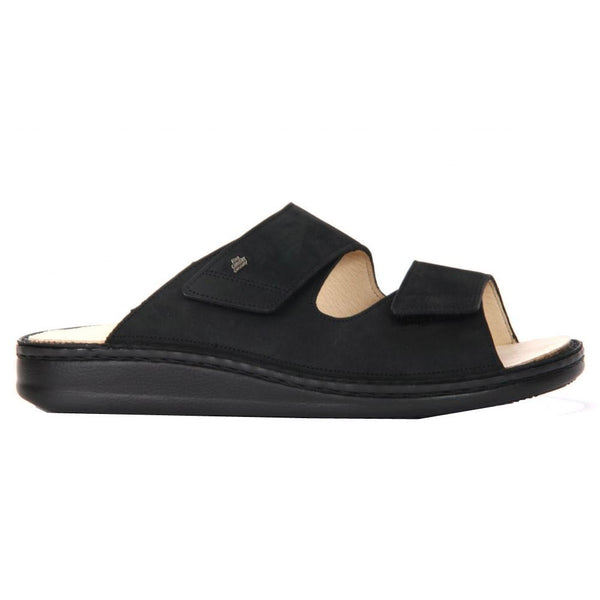 Finn Comfort 1505 Riad Black Mens Sandals#color_black