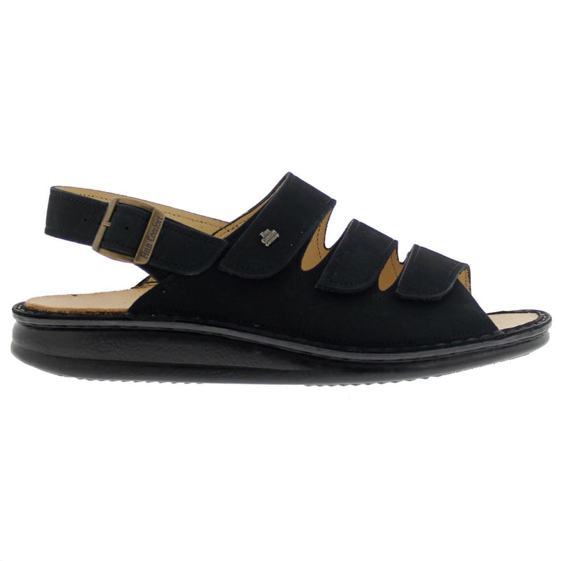 Finn Comfort 2509 Sylt Black Womens Sandals