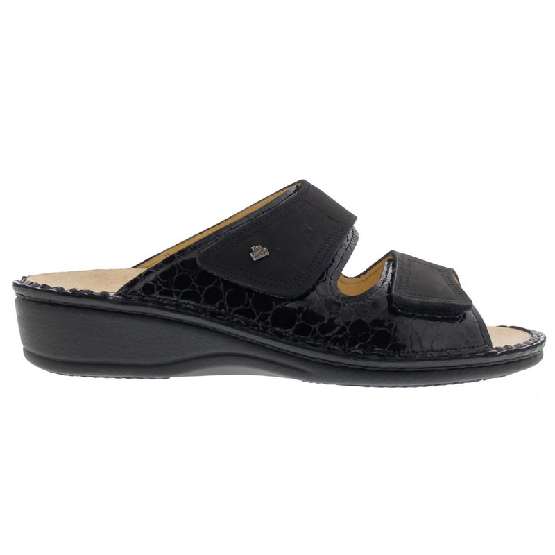 Finn Comfort 2519 Jamaica Frog Buggy Black Womens Sandals