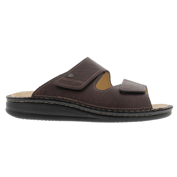 Finn Comfort 1505 Riad Karbo Brown Mens Sandals#color_brown
