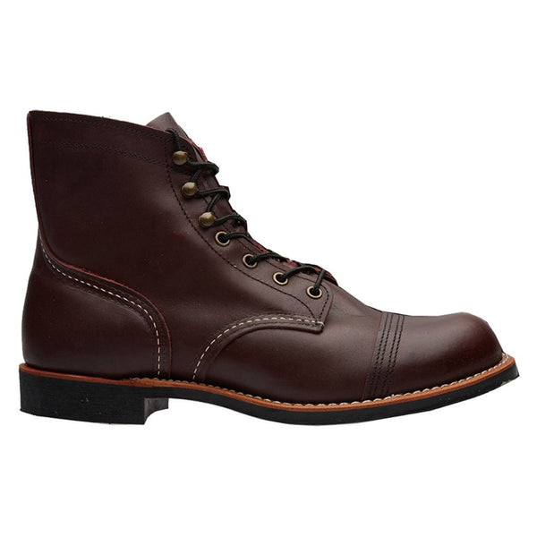 Red Wing 08119-0 Iron Ranger Oxblood Mens Boots#color_red