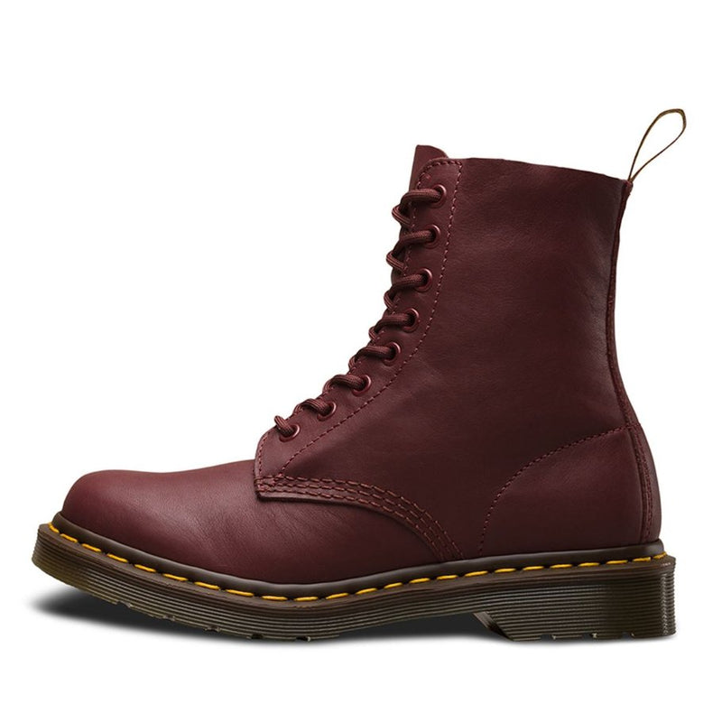 Dr.Martens Pascal 8 Eyelets Virginia Cherry Red Womens Boots