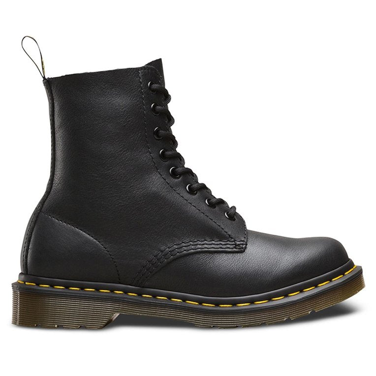 Dr.Martens Pascal 8 Eyelet Virginia Black Womens Boots