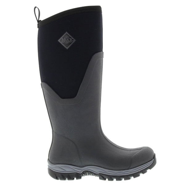 Muck Arctic Sport II Tall Black Womens Boots#color_black
