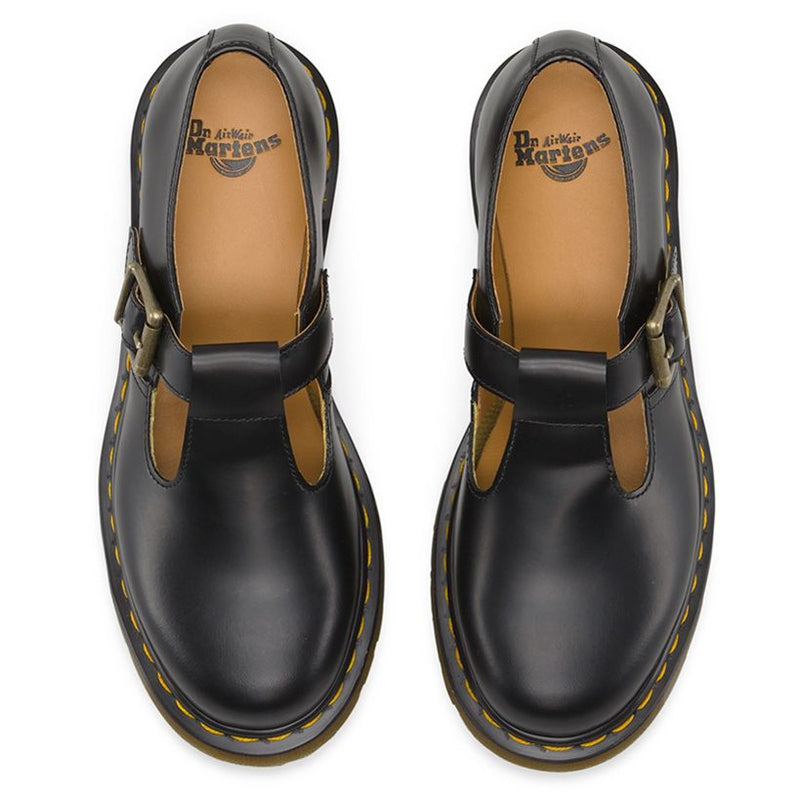 Dr.Martens Polley Smooth Black Womens Shoes