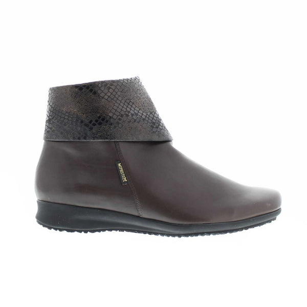 Mephisto Fiducia Dark Brown Womens Boots#color_brown