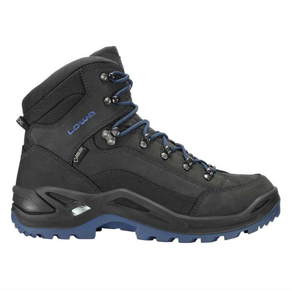 Lowa Renegade Gore-Tex Mid Antracite Mens Boots#color_black