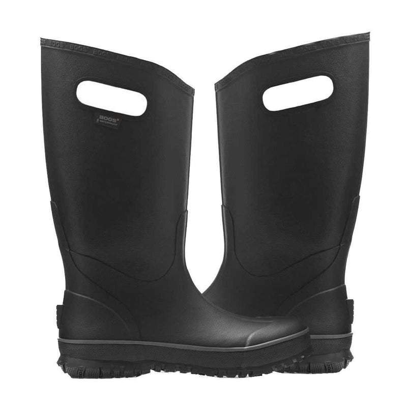 Bogs Rain Boot 71913 Black Mens Boots