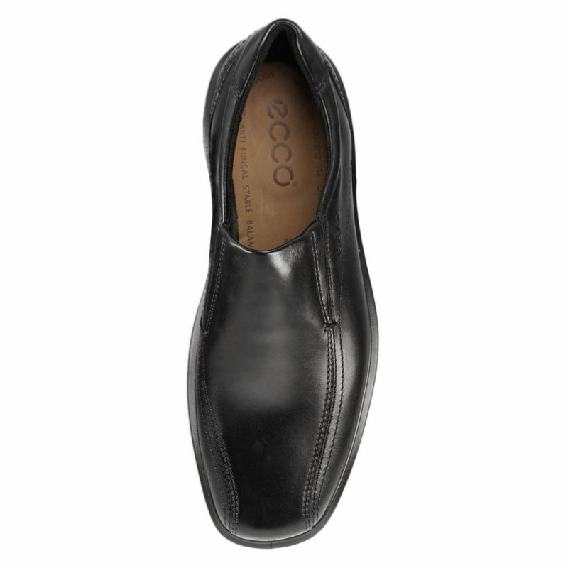 Ecco Helsinki Loafers Black Mens Shoes