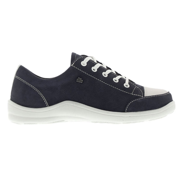Finn Comfort Soho Navy Womens Shoes#color_blue