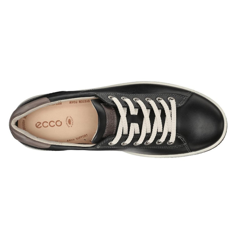 Ecco Chase II Tie Black Womens Shoes