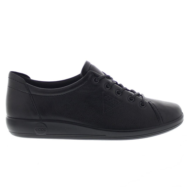 Ecco Soft 2.0 Black Womens Shoes#color_black