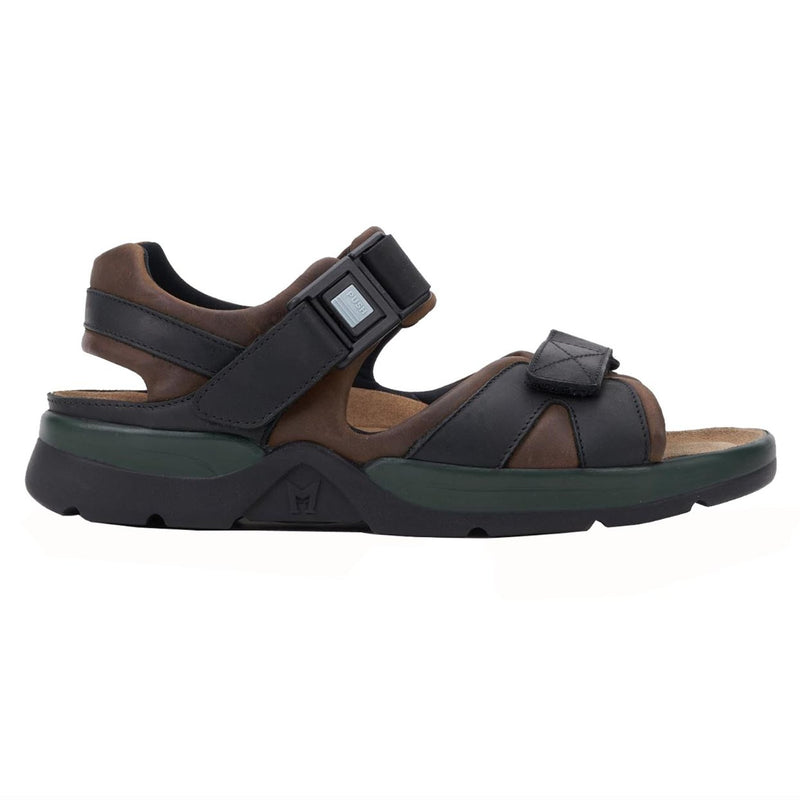 Mephisto Shark Fit Dark Brown Mens Sandals
