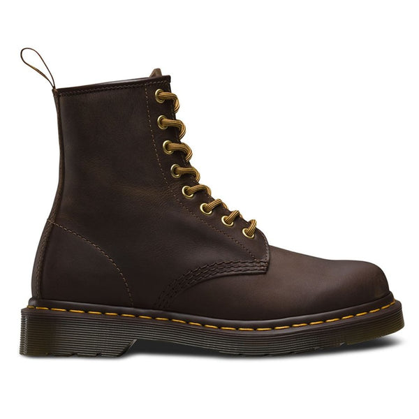 Dr.Martens 1460 8 Eyelet Crazy Horse Brown Mens Boots#color_brown