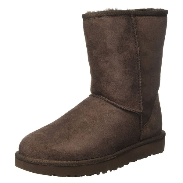 Ugg Australia Classic Short ll Chocolat Womens Boots#color_brown
