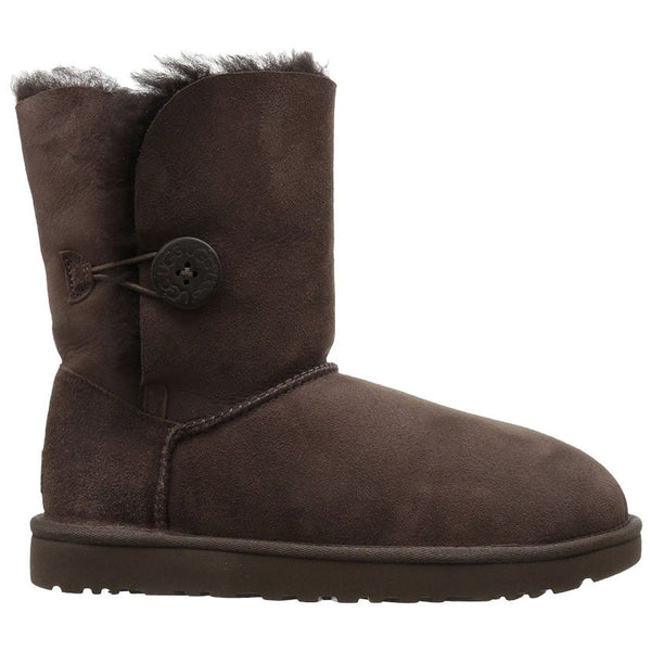 Ugg Australia Bailey Button ll Chocolat Womens Boots#color_brown