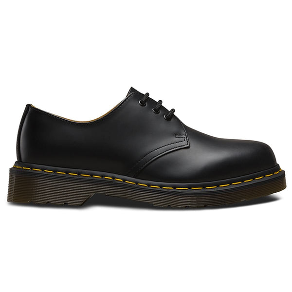 Dr.Martens 1461 3 Eyelet Smooth Black Mens Shoes#color_black