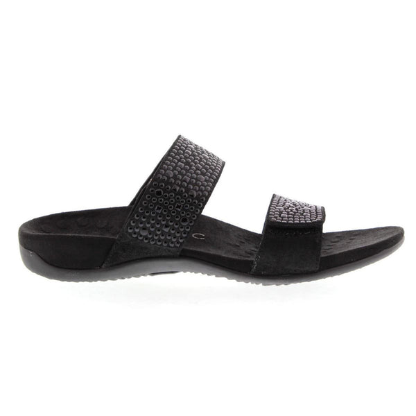 Vionic 341 Rest Samoa Black Womens Sandals#color_black