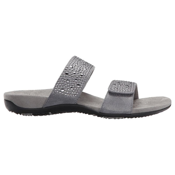 Vionic 341 Rest Samoa Pewter Womens Sandals#color_pewter