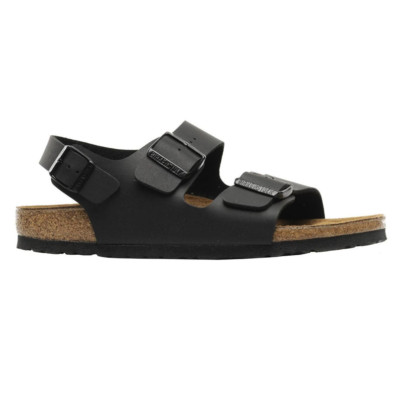 Birkenstock Milano Black Mens Sandals