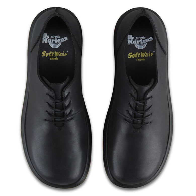 Dr.Martens Lorrie Polished Oily Illusion Black Womens Shoes