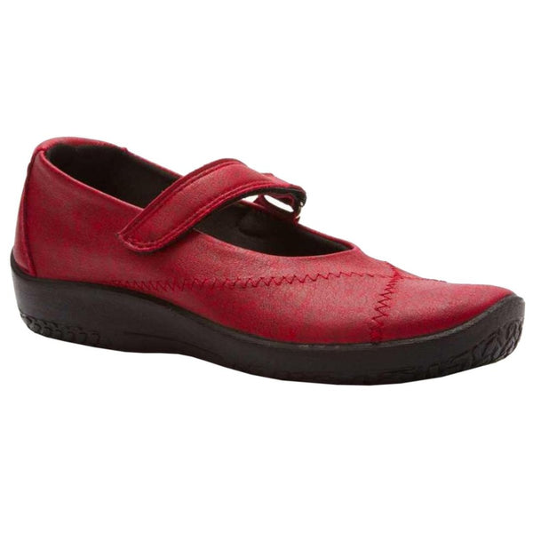 Arcopedico L18 Cherry Womens Shoes#color_cherry