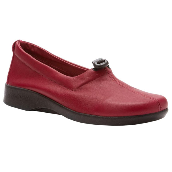 Arcopedico Queen Cherry Womens Shoes#color_cherry