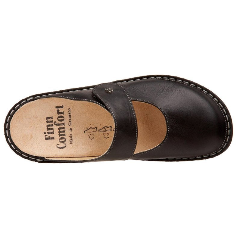 Finn Comfort Stanford Black Womens Sandals